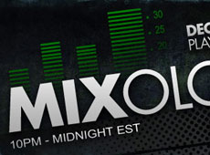Mixology LIVE radio show branding and promotion