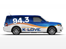 K-LOVE Ford Flex Design