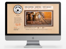 Cup-a-Joe Website Design