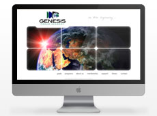 Genesis Forum Academy Website Design